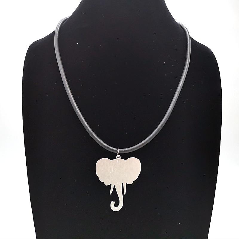 Купить с кэшбэком YD&YDBZ Elephant Animal Pendant Necklaces Women Collar Chains Fashion 2019 New Simple Necklace Girl Gifts Handmade DIY Jewelery