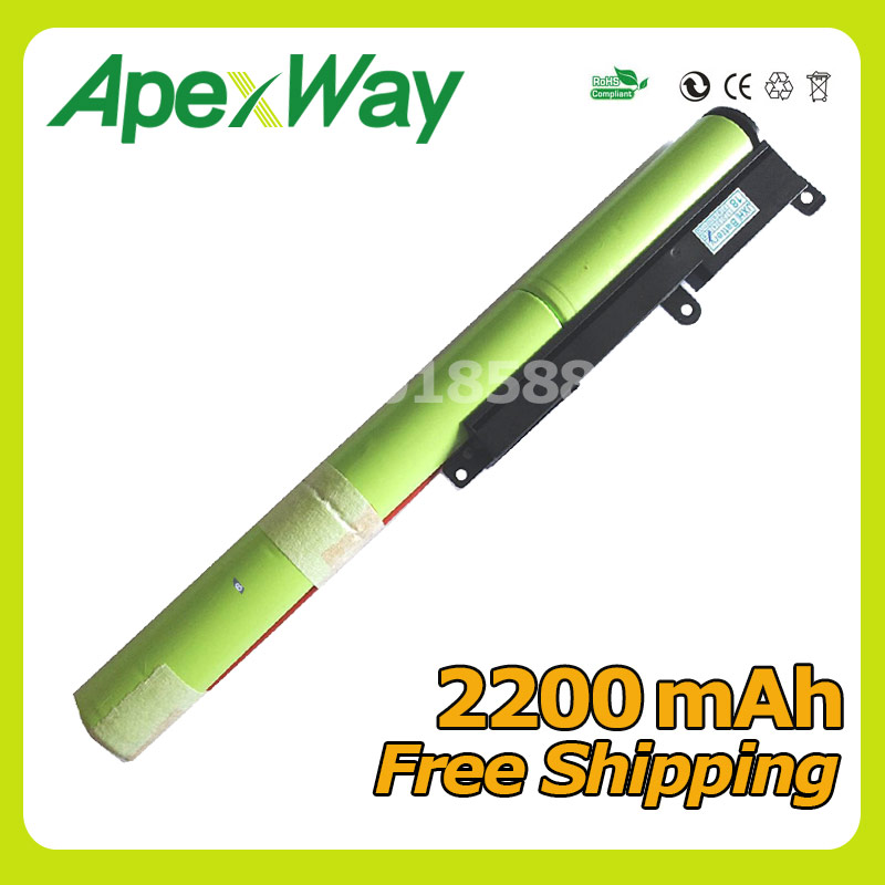 Apxway <font><b>2200mAh</b></font> New Laptop <font><b>Battery</b></font> A31N1601 For ASUS F541UA R541UA R541UJ R541UV X541SA X541SC X541U X541UA X541UV 0B110-00440000 image