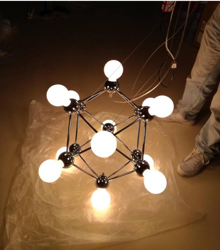 Moderne Kronleuchter Licht Magische Bohne Bronze Kronleuchter Kreative  Schlafzimmer Villa Kronleuchter Beleuchtung Enthalten Birne 12 Kopf