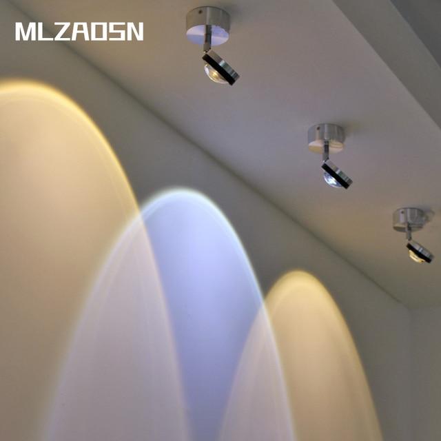 MLZAOSN LED Spotlight Ming Gemonteerd Led 3 W Verlichting Muur Spots ...