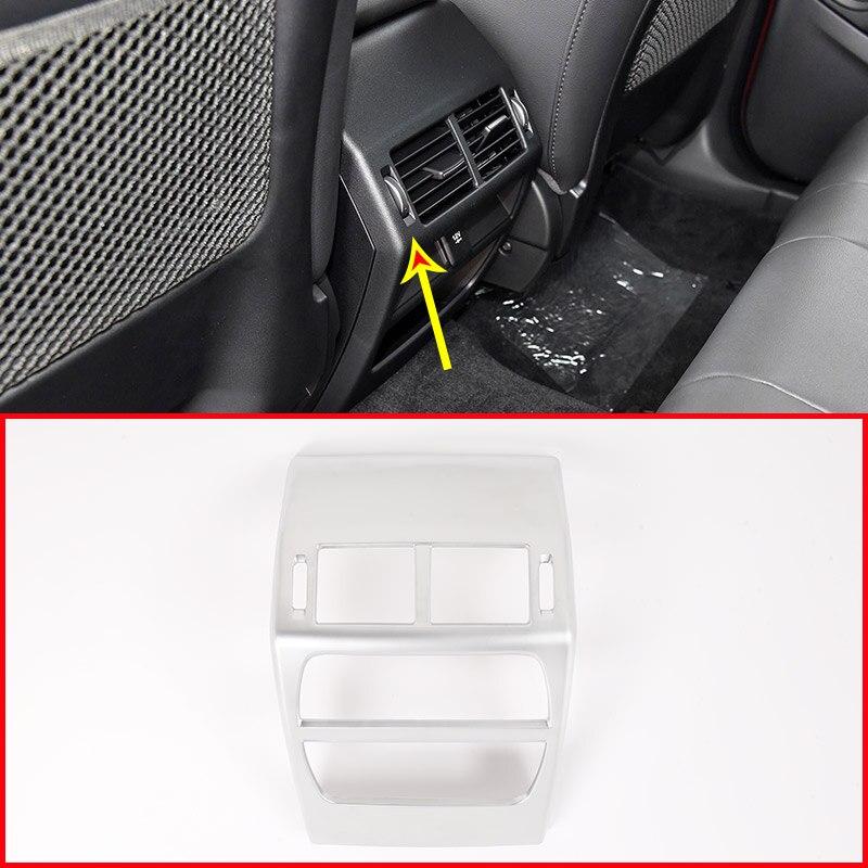 Car Rear Back Air Conditioning Vent Frame Trim For Jaguar E PACE E PACE 2018 2019