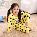 Crianças Cueca De Algodão Terno Esponja Bob Sleepwear Menina Dos Desenhos Animados Calças Crianças Terno Primavera Outono Veste roupas Meninos Conjuntos de Pijama