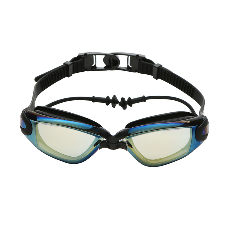 Optical Prescription Myopia Swimming Goggles For Men Women With Earplug And Adult Diving Glasses 6