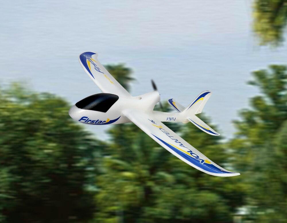 Volantex Firstar RC PNP/ARF Glidler Plane Model W/ Motor Servo ESC W/O Battery new phoenix 11207 b777 300er pk gii 1 400 skyteam aviation indonesia commercial jetliners plane model hobby