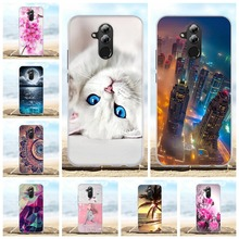 For Huawei Mate 20 Lite Case Silicon Cover Cat Funda Mate20 20Lite Phone Cases