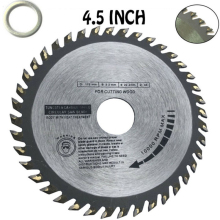 цена на 1pc 40 Teeth Circular Carbide Saw Blades Cutting Wood For Angle Grinder Saw Disc Wood Cutter Saw Blade For Cutting Wood