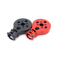 1PC Plant Protection Drone Aluminum Motor Mount D30mm Carbon Tube Clamp Motor Fixed Bracket for 8018 8010 Q9XL Q9L Q6L