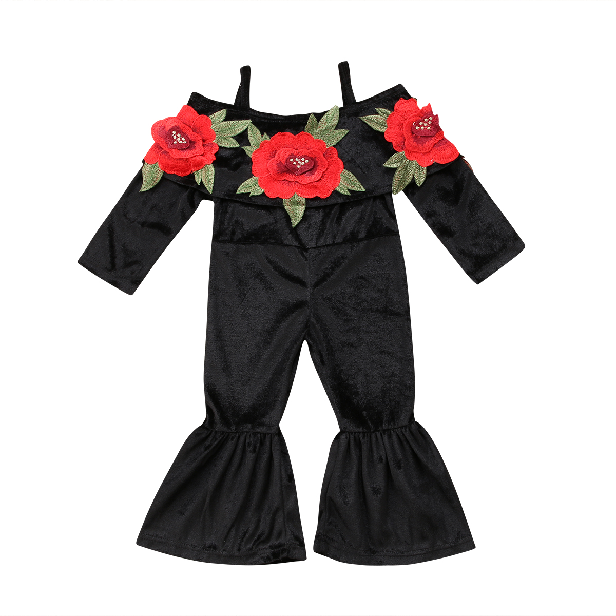 Women's Bags Fashion Toddler Kids Baby Girls Flower Romper Suspender Dress Jumpsuit Playsuit With A Long Standing Reputation