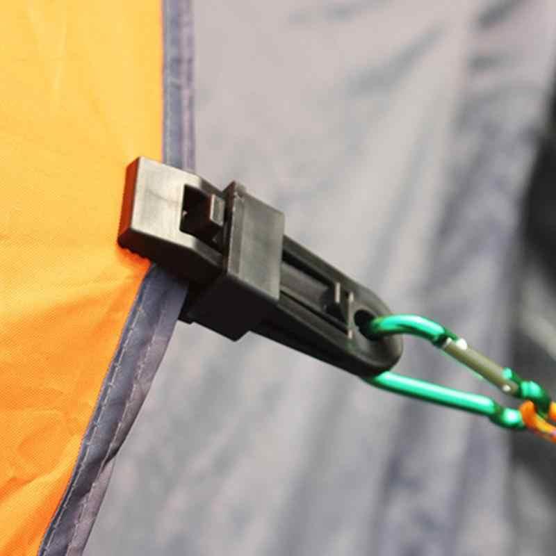 1Pc Tampa Reboque Do Barco Lona Tarp Snap Clip para Camping Toldo Groundsheet Tenda Canopy Clamp Canoa Caiaque Bicicleta Acessório