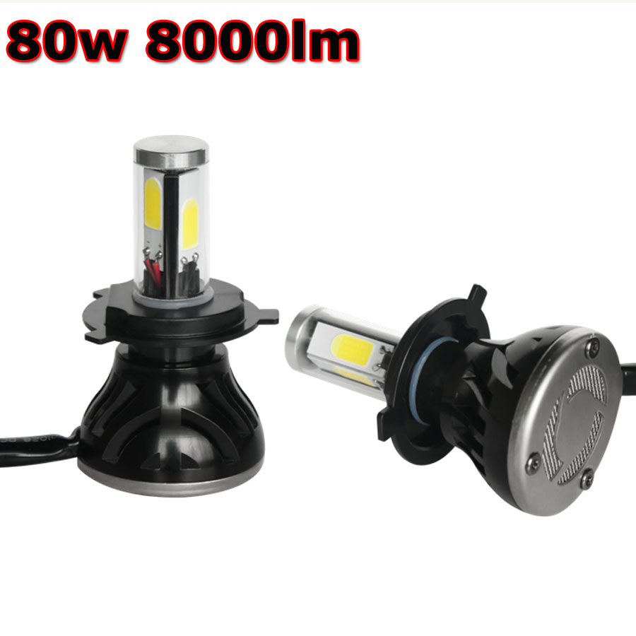 car headlamp G5 led kit 9-36v 35w auto LED Headlight Kit h1 h8 h9 h7 h11 9005 9006 5202 880 h4 Hi Lo Bulb Fog 4 side Light 6000K