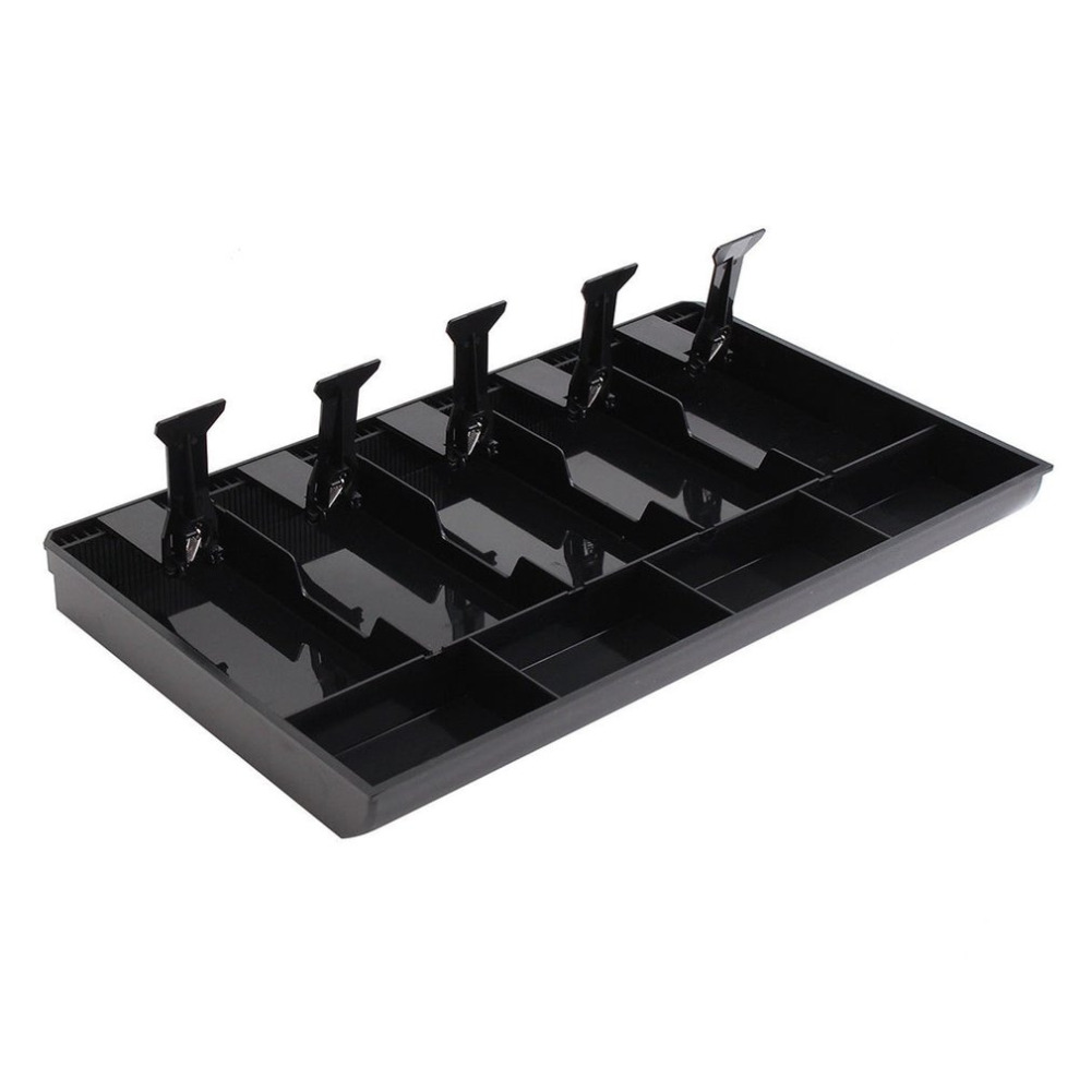 404x245x360mm Money Cash Coin Register Insert Tray Replacement Cashier Drawer Storage Cash Register Tray Box Classify Store