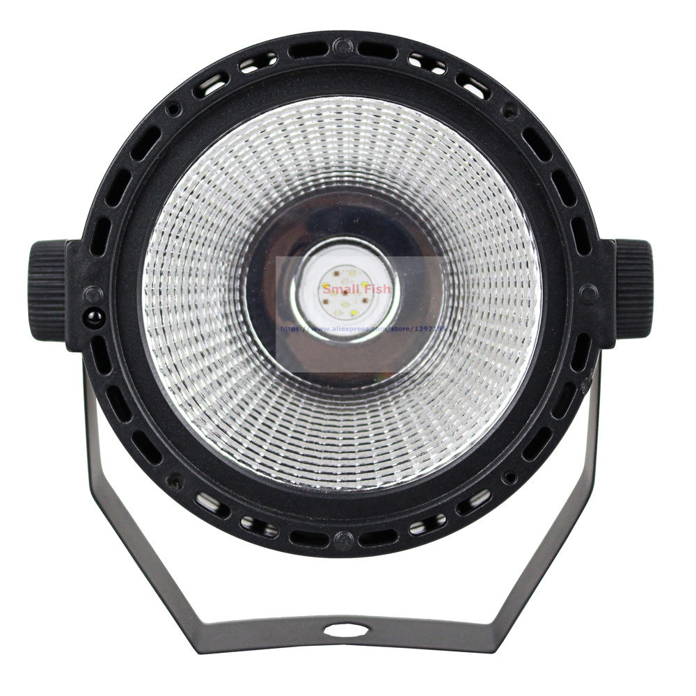 2018 NEW Arrival Plastic Par Lights 60W RGBW 4IN1 High Brightness COB Par Cans DMX 8 Channel Good For DJ Disco Mini Concert