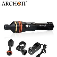 Archon CREE светодио дный Дайвинг фонарик Snoot Подводный Видео Torch Light 18650 Перезаряжаемые Батарея оборудования D11V-II/W17VII
