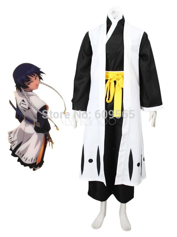 Livraison Gratuite! Costume intelligent de Cosplay de Kimono de blanchiment de Soi Fon, coutume parfaite pour vous!