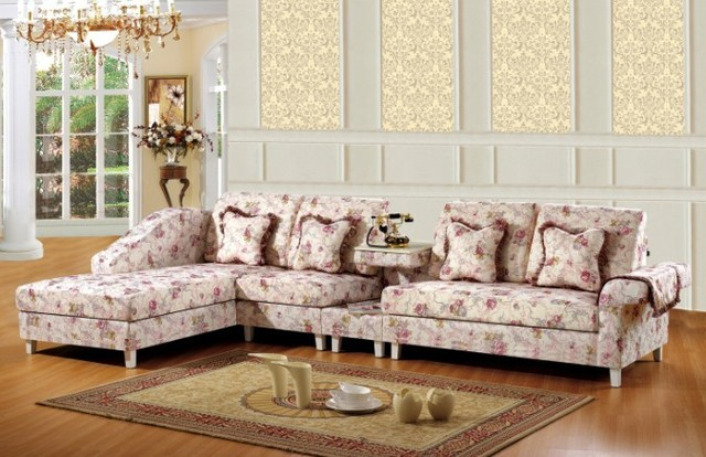 Modern Pink Style Canada Living Room Funiture For Fabric Sofa/couch Set  With Lounge Chair