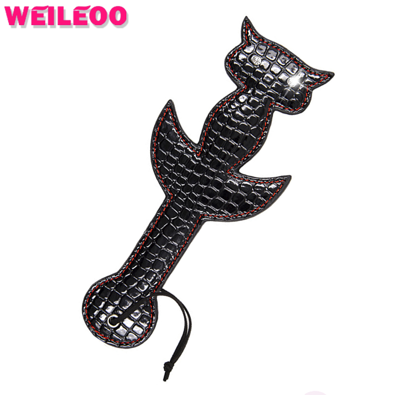 Owl leather spanking paddle whip adult games fetish erotic toys slave bdsm sex toys bdsm bondage sex toys for couples