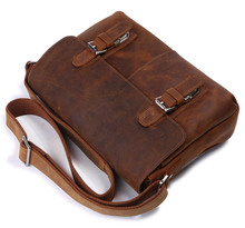 2018 Genuine Leather Bags Men High Quality Messenger Bags Vintage Ipad Brand Casual Travel  Brown Crossbody Shoulder Bag For Men aelicy brand men messenger bag high quality shoulder bag for women business travel crossbody bags for men messenger large