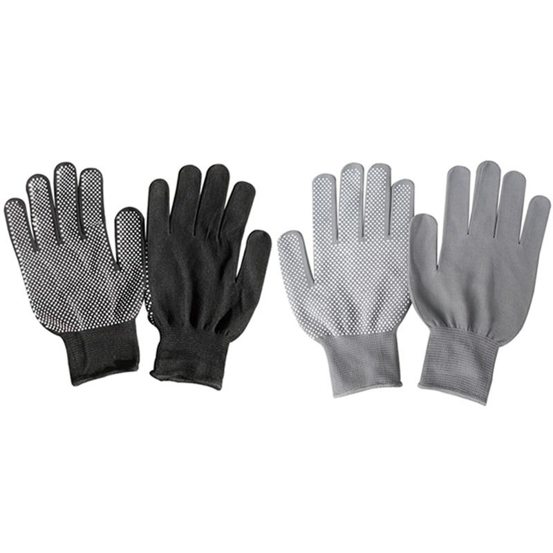 1-pair-nylon-non-slip-dispensing-gloves-skid-resistancef-black-grey-safty-working-gloves