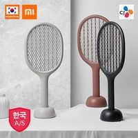 Für Xiaomi SOLOVE Cordless USB Rechargable Batterie Power Home Elektrische Fliegen Moskito-klatsche Bug Zapper Schläger Insekten Mörder