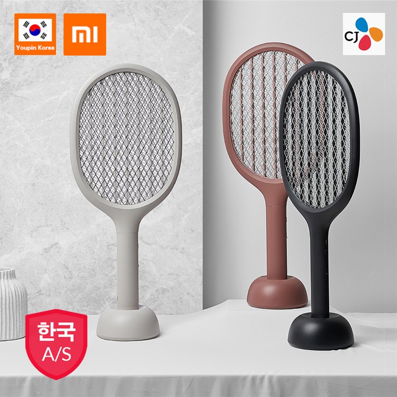 For Xiaomi SOLOVE Cordless USB Rechargable Battery Power Home Electric Fly Mosquito Swatter Bug Zapper Racket Insects Killer