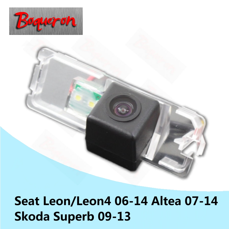 for Seat Leon Leon4 Altea 06-14 Skoda Superb 09-13 HD CCD Night Vision Backup Parking Reverse Camera Car Rear View Camera цена
