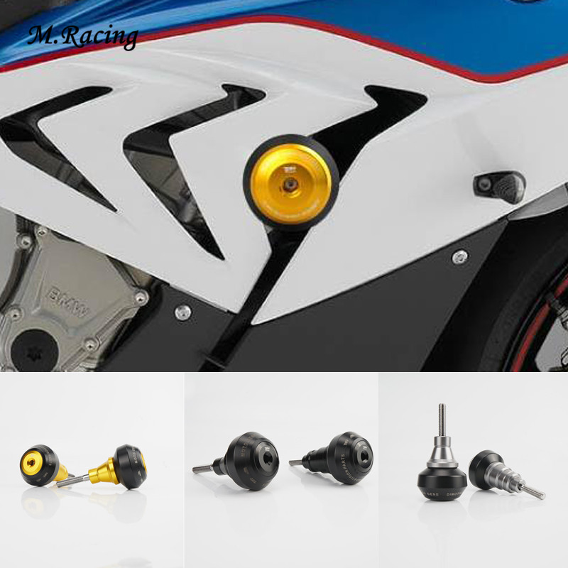 Motorcycle Aluminum Frame Slider Anti Crash Caps Engine Protection Crash Pad Protector For S1000RR 2009-2011 2015-2017 Simple