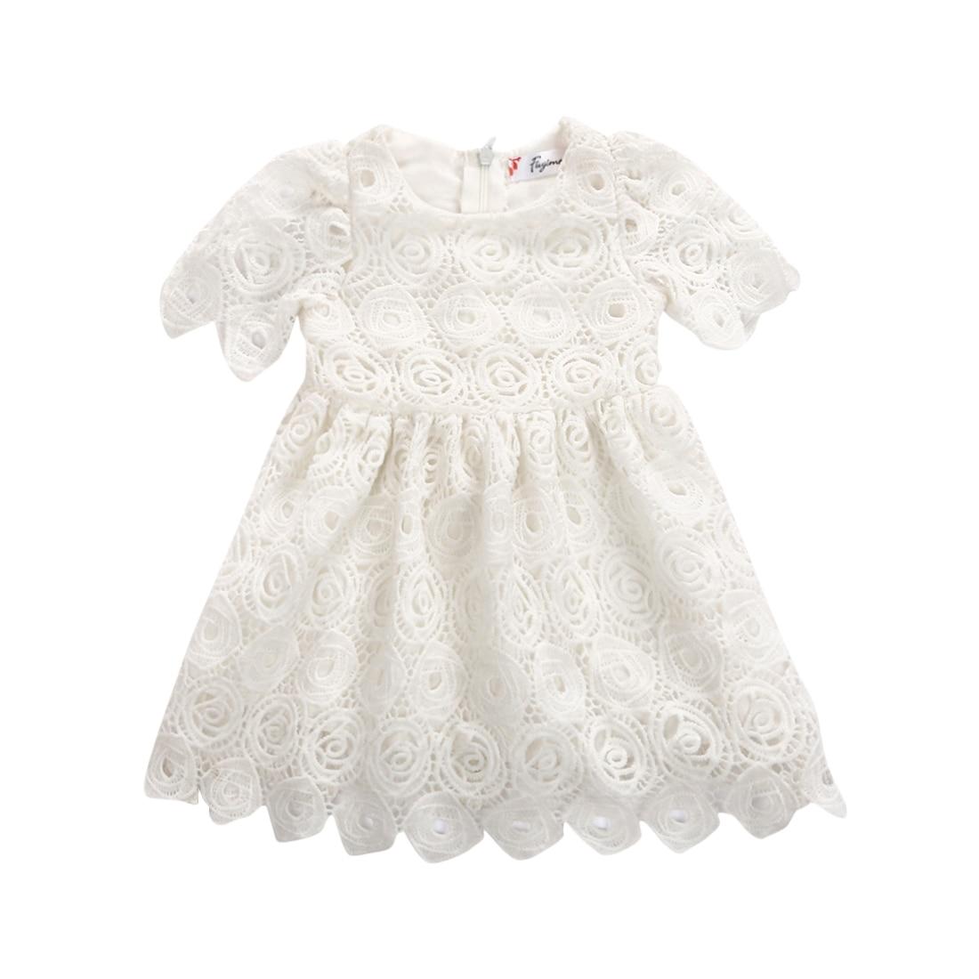 Summer newborn baby girls tutu tulle dress princess party for Baby wedding dresses newborn