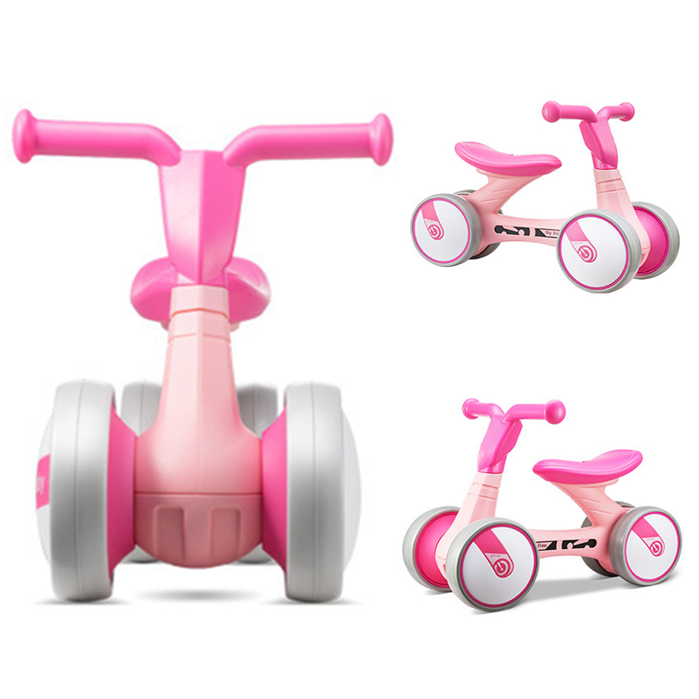 Children Three Wheel Balance Bike Kids Scooter Baby Walker 1-3 Years Tricycle Bike Ride On Toys Gift For Baby Toys High Quality new 1pc kids scooter swing car wiggle gyro plasma ride on toy twist turn baby walker best gift to children wholesale