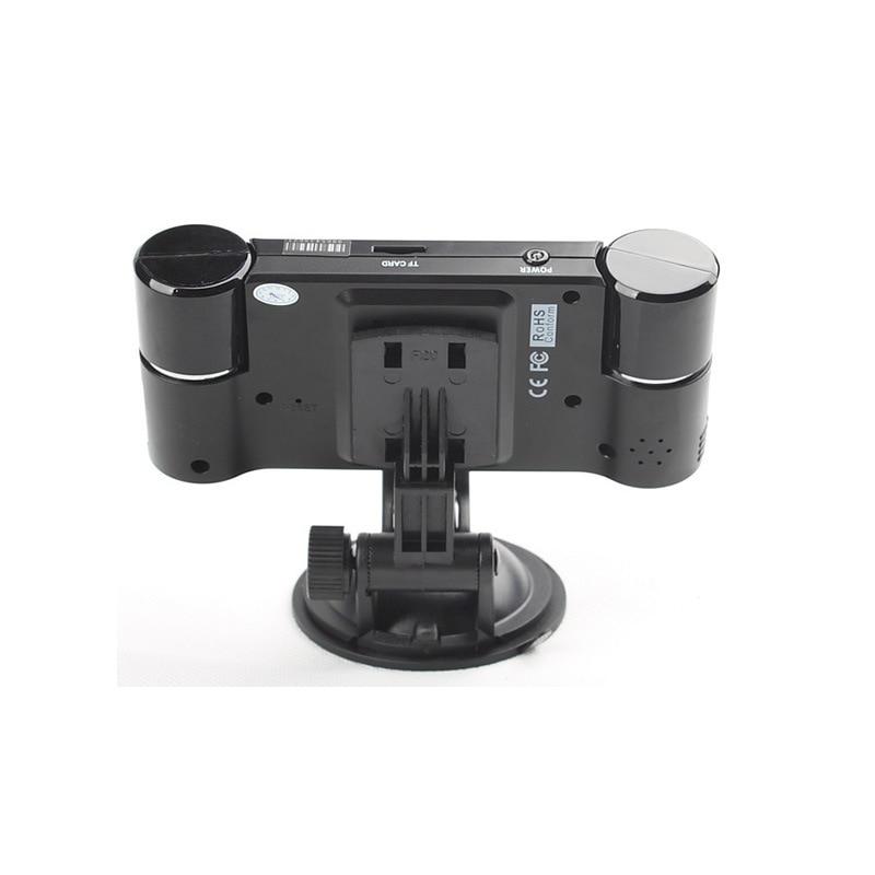 Car Dual Lens DVR Camcorder Camera 2.7 inch Auto Camera HD Windshield Car Driving Recorder Night Vision Wide Angle Custom Logo