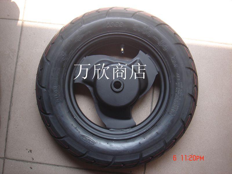 3.50-10 мотоцикла мопед-это новые шины-новая вакуумная шина 350-10 (4--8 слоев)