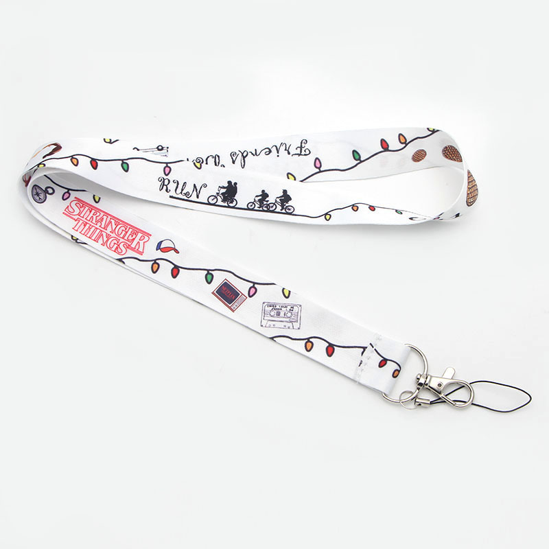 P2092 Dongmanli TV Stranger Things Sunflower Lanyard Badge ID Lanyards/ Mobile Phone Rope/ Key Lanyard Neck Straps Accessories