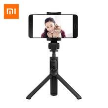 2017 Xiaomi Foldable Tripod Selfie Stick Bluetooth Selfiestick With Wireless Shutter Selfie Stick For iPhone Android Xiaomi