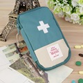 New Outdoor Camping Home Survival Portable First Aid Kit bag Case free shipping(Green)