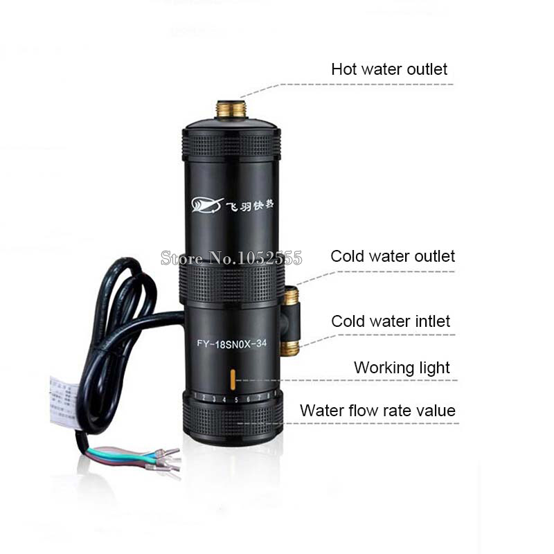 3sec Instant Hot Water Tap Heater Electric Electric Water Faucet ...