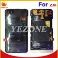 Piezas de repuesto de teléfono celular de color negro 100% original de nuevo la cubierta del caso middleplate para blackberry z30 plate frame medio