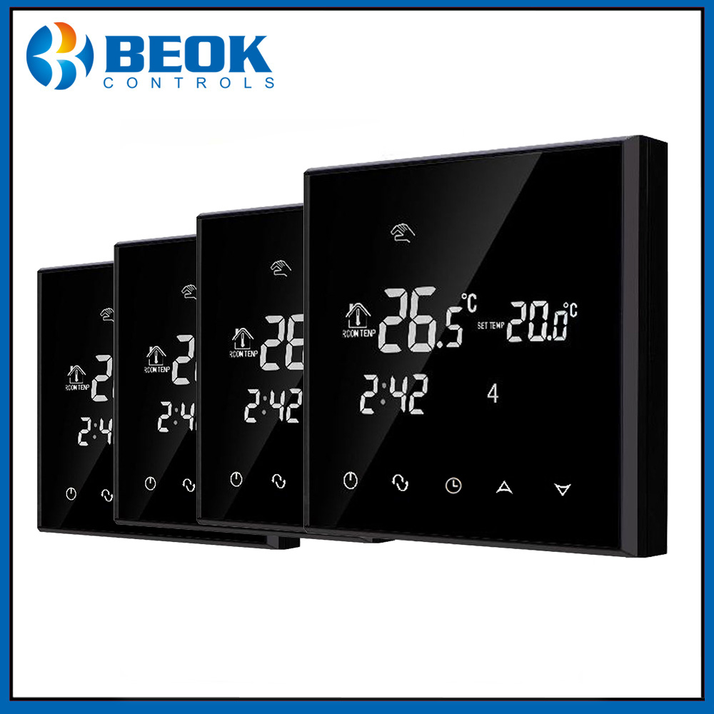 4 stücke TGT70 EP Digitale Thermostat Wöchentlich Programmierbare ...