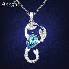 Хит 100% ожерелья и подвески с кристаллами Сваровски скорпионы