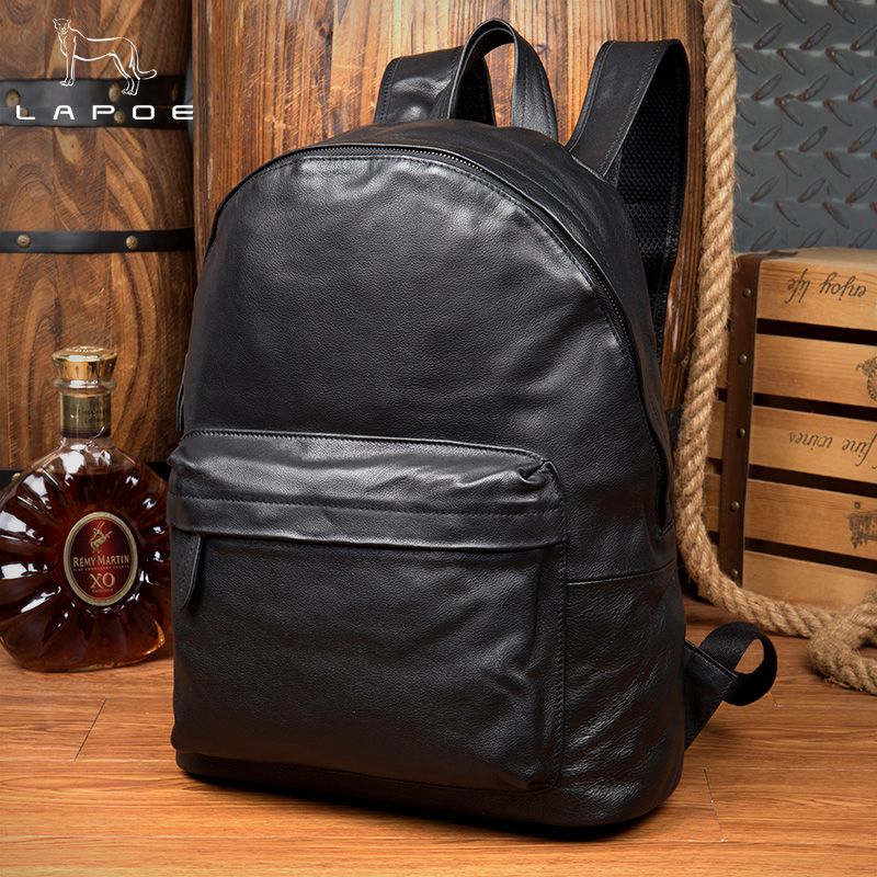 Men And Women Genuine Leather Backpack Youth Travel Rucksack School Book Bag Male Laptop Business bagpack mochila Shoulder Bags new gravity falls backpack casual backpacks teenagers school bag men women s student school bags travel shoulder bag laptop bags
