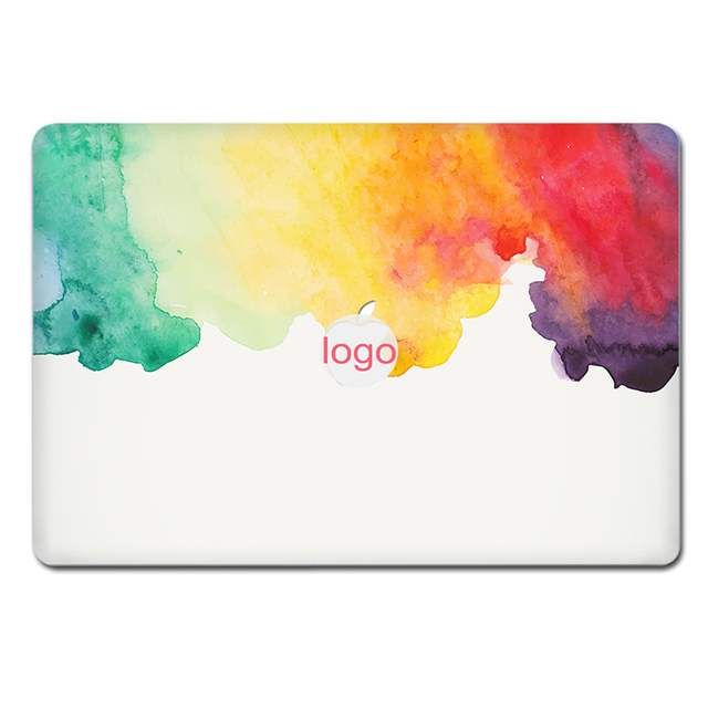US $8 82 45% OFF|YCSTICKER 2019 New Laptop Sticker Top Vinyl Decal DIY  Painting Color Skin For Macbook Air Retina Pro 11 12 13 15 Sticker-in  Laptop