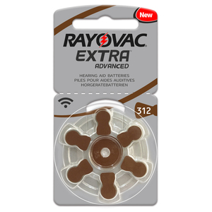 Image 5 - 새로운 30 셀/5 카드 rayovac extra 1.45 v 성능 보청기 배터리. Cic 보청기 용 아연 공기 312/a312/pr41 배터리