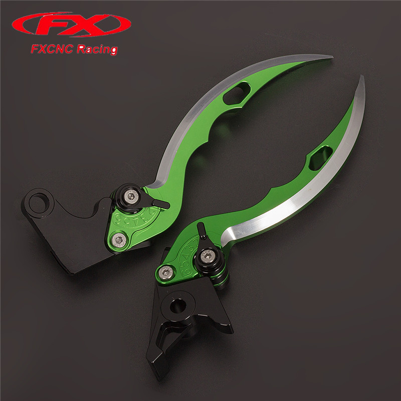 FX CNC Aluminum Adjustable Motorcycles Knife Blade Brake Clutch Levers For Yamaha YZF R3 R25 2015 - 2016 Motorcycle Accessories for yamaha bt1100 bulldog 2003 2004 motorcycle accessories cnc aluminum adjustable short brake clutch levers gold