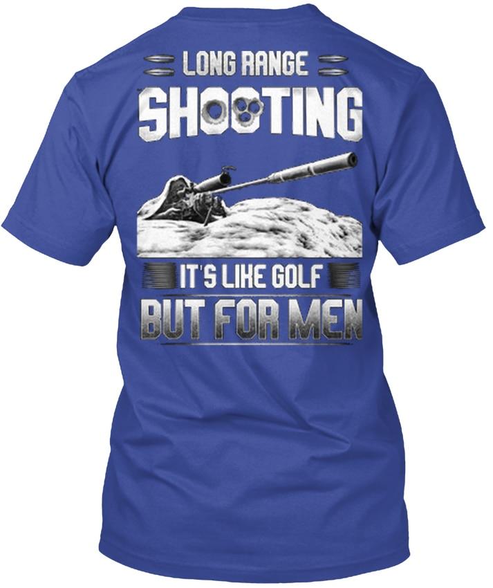 Long Range Shooting Like Golfer Popular Tagless Tee T-Shirt