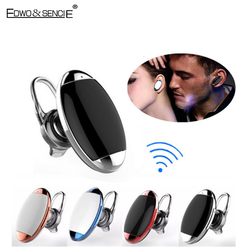 Edwo Mini J1 Wireless Bluetooth Earphone With Mic Handsfree Bluetooth Headset Universal Headphone For iPhone Samsung Xiaomi LG mecall new mecall universal wireless bluetooth headset handsfree earphone for iphone samsung wholesale dec29