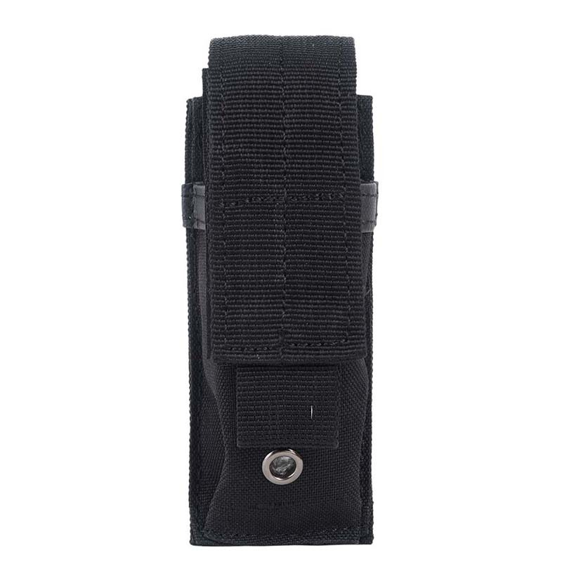 Al aire libre Multi-función táctica militar individual pistola revista cuchillo linterna funda Airsoft caza munición Molle bolsa 100 Uds. El proyectil 8mm bolas de acero arco tirachinas profesional munición tirachinas al aire libre balas utilizadas para la caza