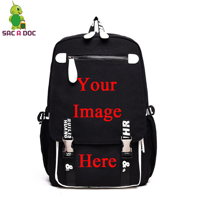Customize Your Image Backpack School Bags for Teenage Girls Boys Laptop Backpack Daily Backpack Women Men Casual Travel BagsCustomize Your Image Backpack School Bags for Teenage Girls Boys Laptop Backpack Daily Backpack Women Men Casual Travel Bags