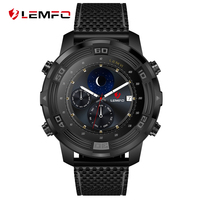 LEMFO LEM6 Android 5 1 Smart Watch Phone 3G WIFI GPS Tracker Waterproof Smartwatch 550mAh Battery