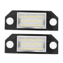 2pcs 12V 1 44W 24 LED Beads License Plate LED Light font b Lamp b font