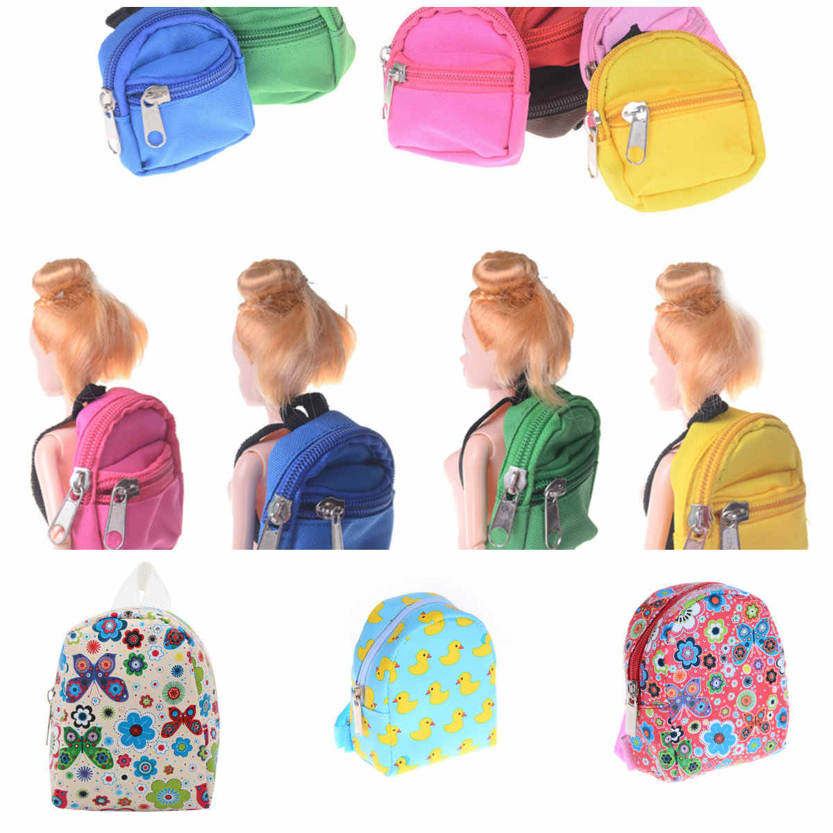 Baby Doll Outgoing Packets Outdoor Carrying Doll Backpack for Carrying18 Inch 43cm doll and for girl