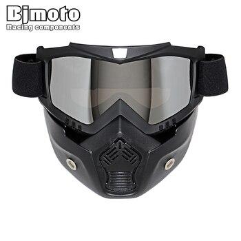e27410c3aa Venta caliente Modular máscara desmontable gafas y la boca filtro perfecto  para la cara abierta la