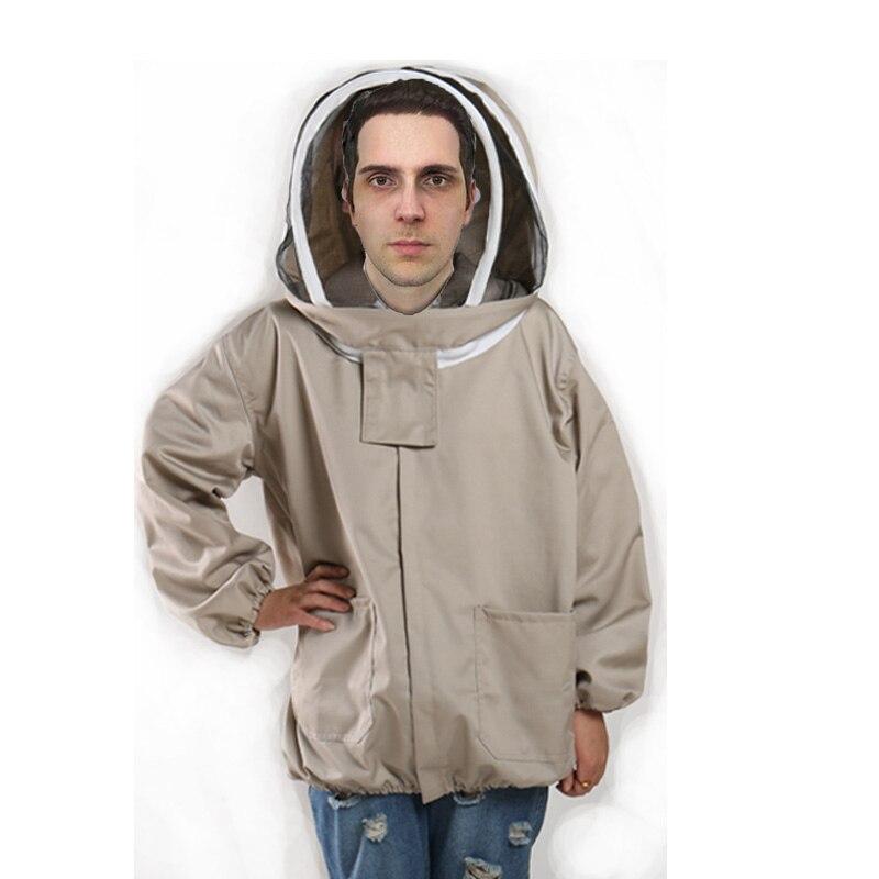 Anti abeille costume anti abeille vêtements apiculteur de protection ruche accessoires coton apiculture veste voile apiculteur équipement outils